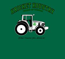 KRICKET KOUNTRY WISDOM: If the tractor fits, drive it! Unisex T-Shirt