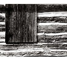 A Pioneer Flag Photographic Print