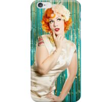Annie Cherry by Vixen Pinup Photography iPhone Case/Skin