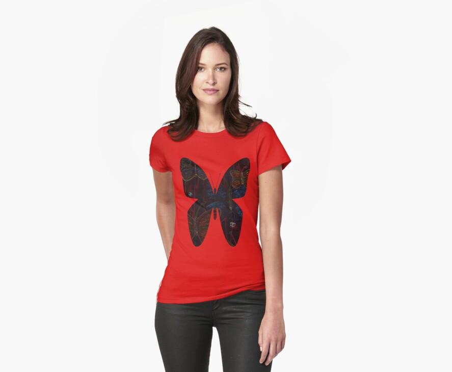 Butterfly Neon by Danielle Loscig