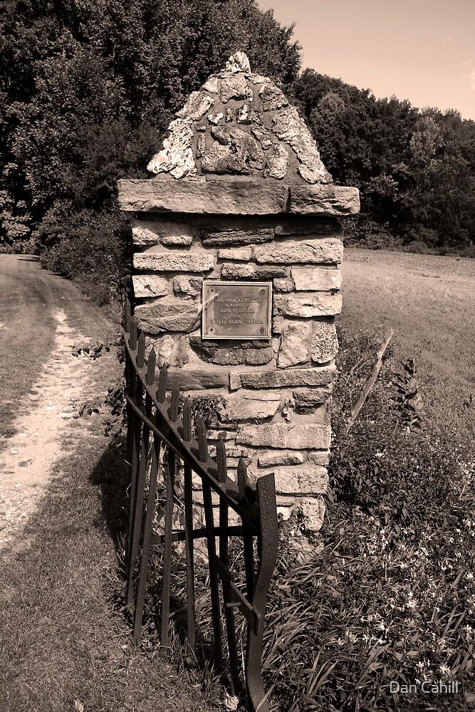 Old Stone Pillar by Dan Cahill