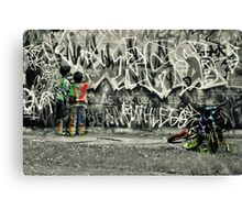 Tagged Canvas Print