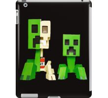 creeper bone iPad Case/Skin