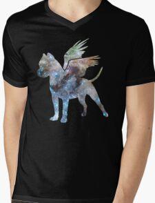 Space Milafly Mens V-Neck T-Shirt