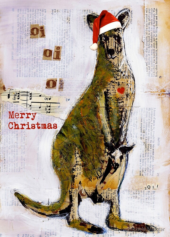 Christmas Card by Michele Meister