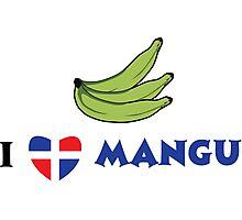 I Love Mangu Photographic Print