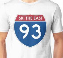 Interstate 93 Ski The East Unisex T-Shirt