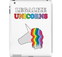 Legalize Unicorns iPad Case/Skin