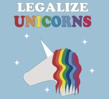 Legalize Unicorns Baby Tee