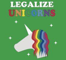 Legalize Unicorns Kids Clothes