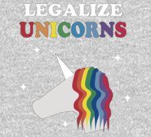 Legalize Unicorns One Piece - Long Sleeve