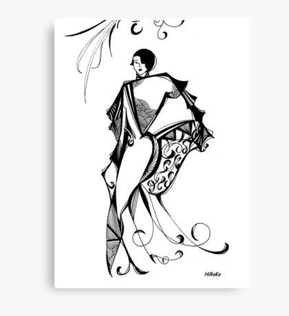 Athena 1997 - Series 1 Canvas Print