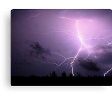 powerful burst Canvas Print