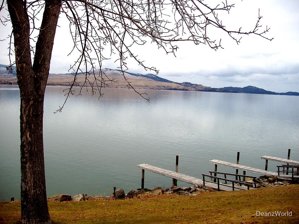 Flathead Lake Polson Montana by Dean Warwick