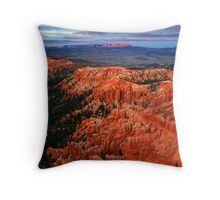 Last Light in Bryce Throw Pillow