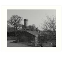 Burg Pyrmont Art Print