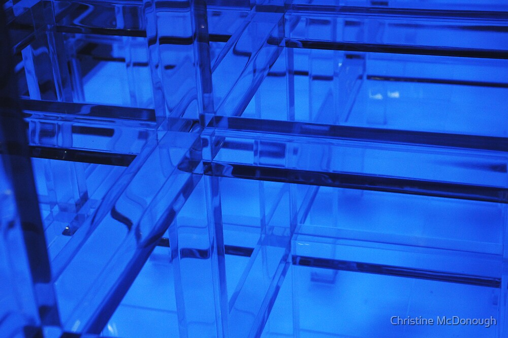 electric blue by Christine McDonough