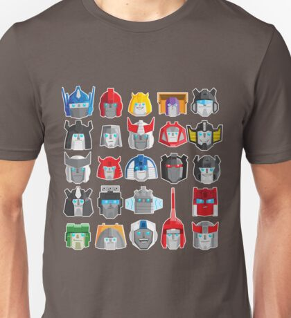 Robots in Di[SQUARE] Unisex T-Shirt