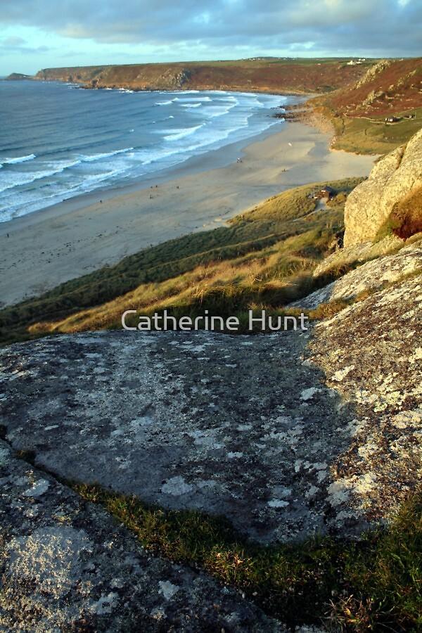 Whitesand Bay, Sennen by Catherine Hunt