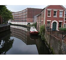River Wensum and a barge Photographic Print