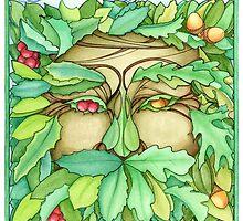 Green Man by dreaminghazel