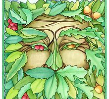 Green Man by dreaminghazel