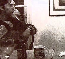 Dan drinking. by sharka69