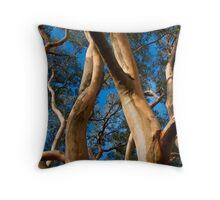 Gum Tree Uprising Throw Pillow