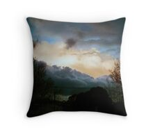 a masters firmament Throw Pillow