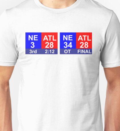 Score football NFL T-shirt Unisex T-Shirt