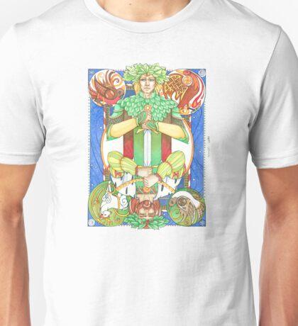Solstice Kings (Oak King up) Unisex T-Shirt