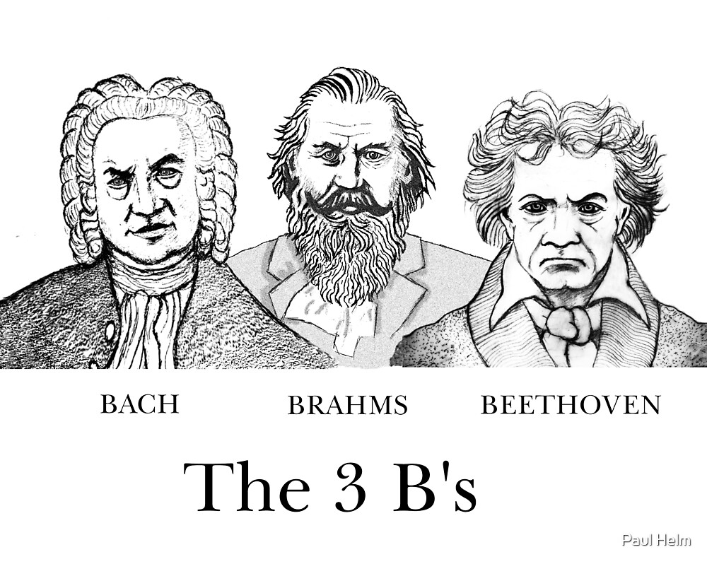 The 3 Bs by Paul Helm