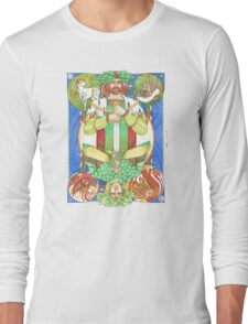 Solstice Kings (Holly King up) Long Sleeve T-Shirt