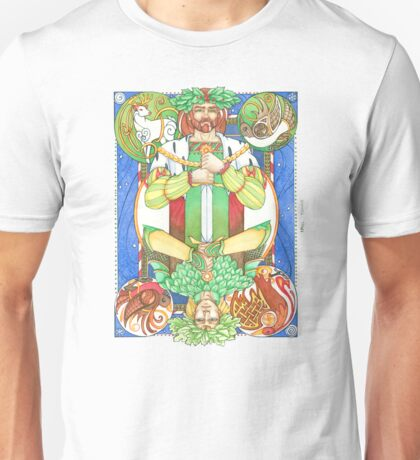 Solstice Kings (Holly King up) Unisex T-Shirt