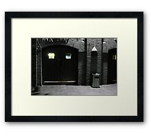 Malthouse Theatre Doors Framed Print