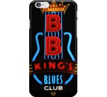 Memphis Neon on Beale Street #1 iPhone Case/Skin