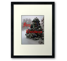 """ Christmas Card "" Framed Print"