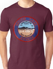 Groom Lake Unisex T-Shirt