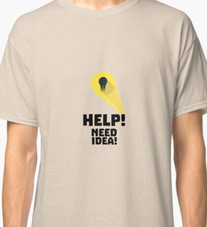 Need Help idea bulb in Superhero light R7wfi Classic T-Shirt