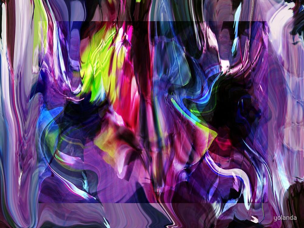 A Mess of Colour  by yolanda