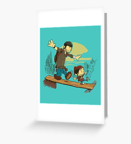 Just the 2 of Us Greeting Card