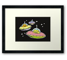 spacecats Framed Print
