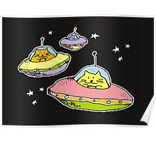 spacecats Poster