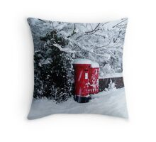 Where is Postman Pat !!! Throw Pillow