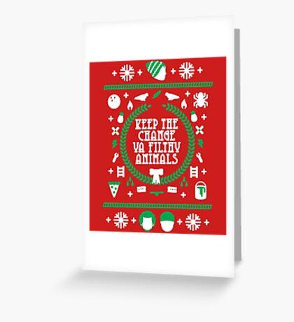 Keep the Change Greeting Card