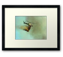 Bombs away!! Framed Print