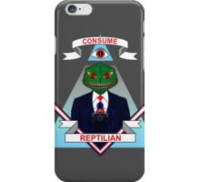 Consume Reptilian iPhone Case/Skin