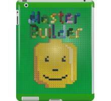 Lego Master Builder for Kids and Kids at Heart iPad Case/Skin