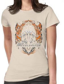 Creepy goggles  Womens Fitted T-Shirt