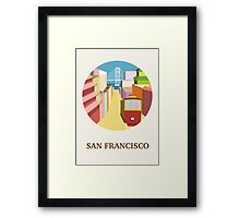 City Art San Francisco Framed Print